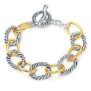 Yurman style bracelet - Styled Collection - NEW